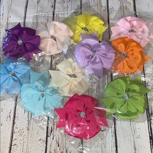 Lot of 11 Hairbows